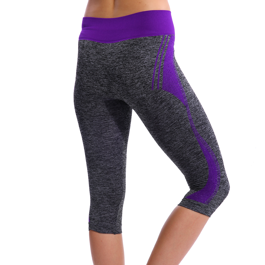 YWBIN Brand Women Capri Pants Professional Yoga Leggings