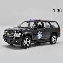 1:36 high imitation alloy model car,Chevrolet TAHOE pull back metal car toy,2 open door static model toy vehicle, free shipping