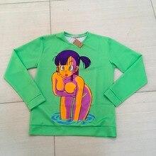 Dragon ball Z Sweatshirt vibrant jumper Sexy Bulma