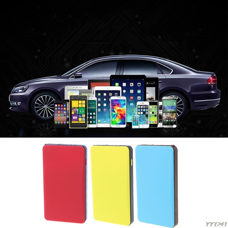 OOTDTY Multi-Function 20000mAh Car Jump Starter Power Bank Emergency Charger Booster Battery Portable Auto Jump Starter-Y11