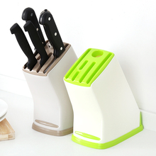 New Kitchen Creative Articles Storage Stainless Steel Cutter Rack Storage Rack Knife Holder Knife Holder 3 Color WLLTR
