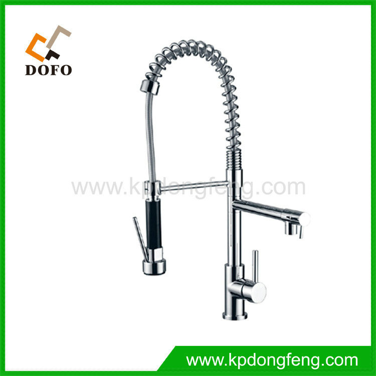 Kitchen Faucet Keeps Getting Loose: Folding Faucet Hot Cold Faucet Pull Out Kitchen Faucet The