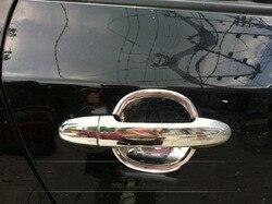 EOsuns klamka do drzwi samochodowych zestaw misek do Hyundai Santa Fe 2006-2010-2012 8 sztuk do 4 drzwi