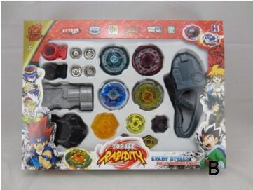 3 Стиль Волчки Launcher Beyblade Металл Fusion 4D Набор Сцепление Борьбы Beyblade Классические ИГРУШКИ ДЕТИ ПОДАРОК YH999
