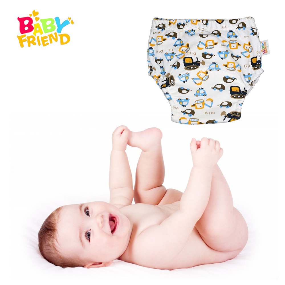 Babyfriend Baby Training Pants Baby Diapers Nappies Reusable Diapers Nappy Changing Kids Underwear Children Boys Girls Diaper