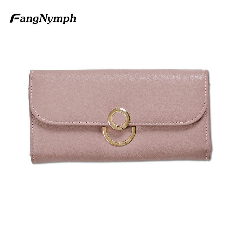 2019 New Designer Wallet Women Luxury Brand Female Long Multifunction PU Leather Wallets Girls Phone Money Purse Bag