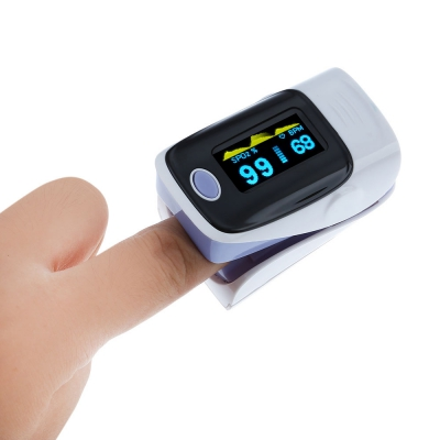 Gustala Digital Fingertip Pulse Oximeter Instant Read Health Monitoring Display Suitable Athletes or aviation Enthusiasts