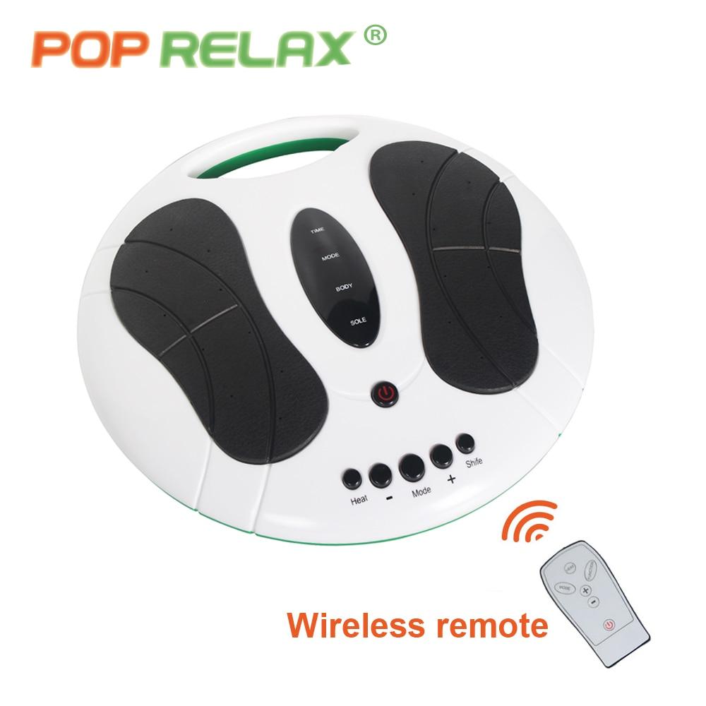 POP RELAX Elektrisk fotmassagerare smalare stimulator akupunktur - Sjukvård - Foto 4