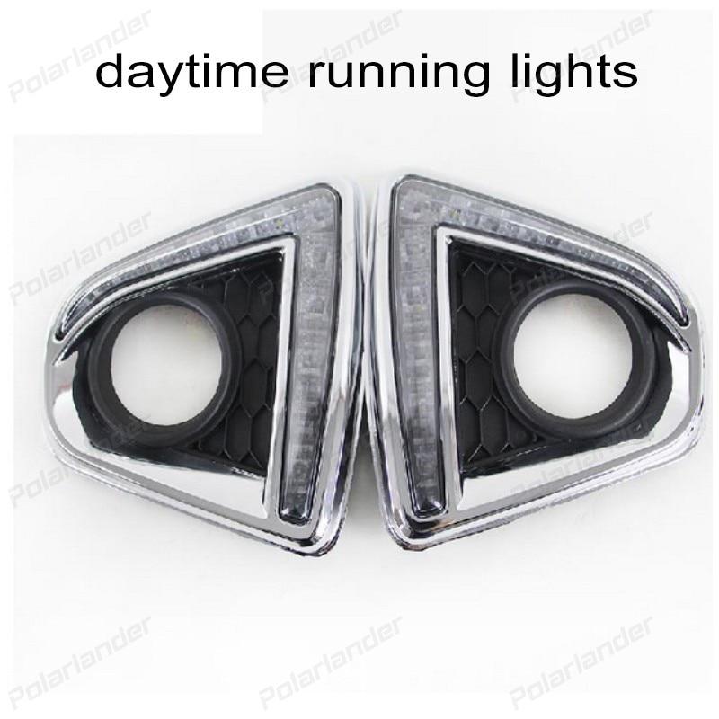 2PCs/set Auto LED DRL Daylight lamp Car Daytime Running lights set for M/azda CX 5 2012-2014 2pcs set led drl daylight lamp daytime running lights car drl led kit for mazda cx 5 cx5 cx 5 2012 2013 2014 2015