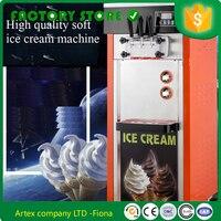 3 sabor 10% de desconto filipinas usado mais popular 25L/H máquina de sorvete soft servir para venda cream machine ice cream machine soft serve -