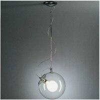 מודרני זכוכית בועת סבון שלושה גודל אורות תליון חדר אוכל מסעדת מנורות תליון חדר שינה יצירתי חדר לימוד מנורת תלייה