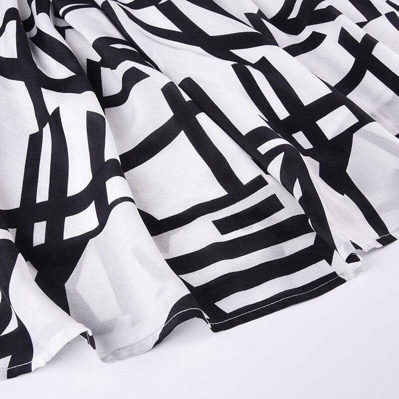Dames Élégante Soie Couture Lâche Taille Tempérament 2019 Robe Longue Mode Nouveau Printemps Les Blanc Section Pour Grande 7IfbvmgyY6