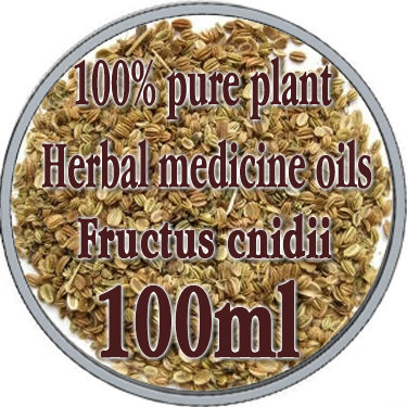 100% pure plant Herbal medicine oils FRUCTUS CNIDII herbal oil 100ml Essential oils traditional Chinese medicine oil