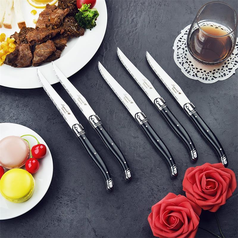 laguiole steak knife set  (8)