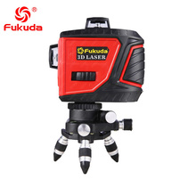 Fukuda 12 lines MW93T-3R New function red laser level 360 Vertical And Horizontal Self-leveling Cross Line Laser Level