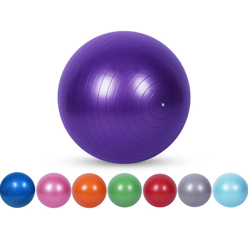 Yoga-Balls Gym Balance Workout-Fitness-Balls Exercise Pilates Smooth 65cm