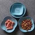 Ins простой цветной поднос для хранения фруктовых продуктов  круглая закуска  конфета  пластиковая тарелка  Вечерние Декорации для фотосъемк...