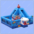 New Design Shark Inflatable Bouncy Castle,Giant Seaworld Inflatable Castle,Dory and Nemo Jumping Castle