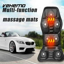 VEHEMO Electric Heated Seat Cushion Multifunction font b Interior b font Accessories Car Stying Massage Pad