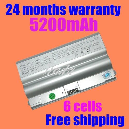 JIGU New BPS8 BPS8A BPL8 VGP-BPS8 BPL8 BPL8A VGP-BPS8A VGN-FZ Battery +free shipping+Without CD