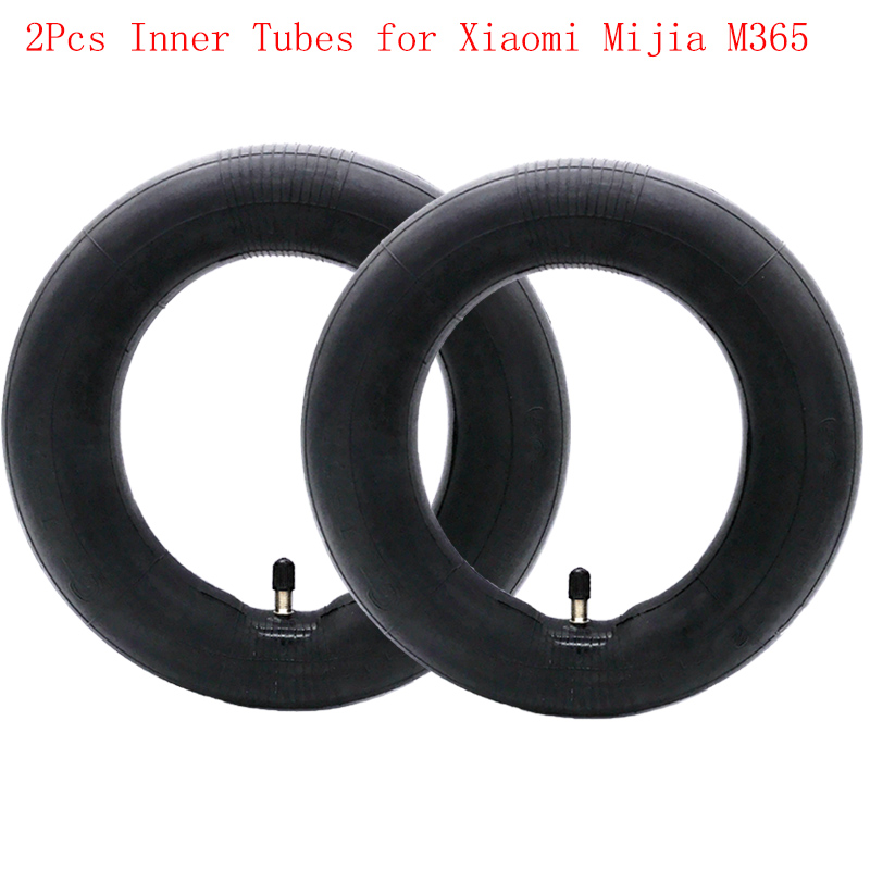 2 Pz Camere D'aria di Pneumatici per Xiaomi Mijia M365 Scooter Elettrico 8 1/2x2 Versione Aggiornata durevole Spessa Della Rotella del Pneumatico