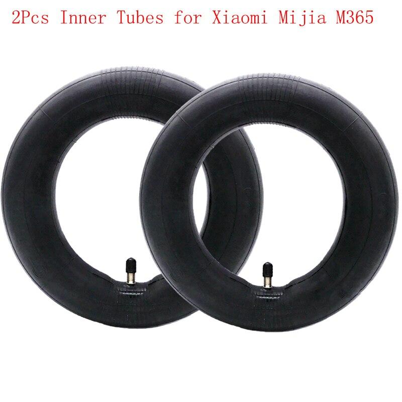 2 Stücke Schläuche Luftreifen für Xiaomi Mijia M365 Elektroroller 8 1/2x2 Verbesserte Version Durable Dicke Rad Reifen
