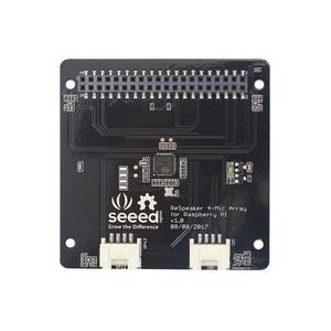 Image 2 - ReSpeaker 4 Mic Mảng cho Raspberry Pi, là một quad microphone board mở rộng