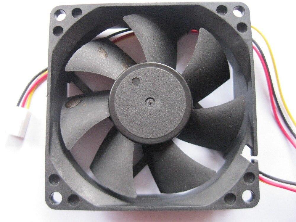 10 Stücke Bürstenlosen Dc Kühlung 7 Klinge Fan 8025 S 12 V 80x80x25mm 3 Drähte KöStlich Im Geschmack