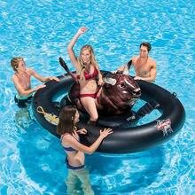 Egoes basen plaża jezioro Inflatabull Rodeo Bull Ride On Float 56280