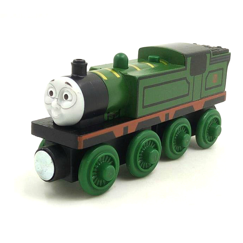 W67 free shipping RARE Original NEW WHIFF Thomas And Friends Wooden Magnetic Railway Model Train Engine Kids Toy Christmas Gift