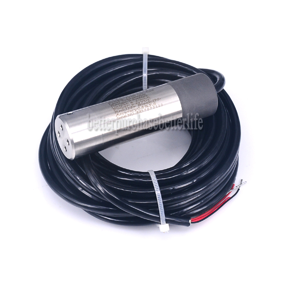 0-10mH2O 11m Cable 9-32V power 4-20mA output, Submersible Level Transmitter Level Transducer 0 10mh2o with 11m cable throw in type liquid level transmitter level transducer