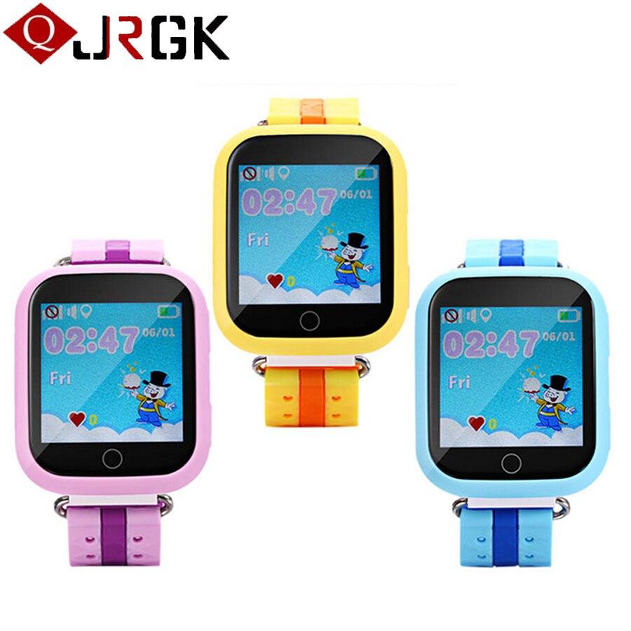 Montres enfant avec GPS Tracker Q750 bébé enfants montres pour garçons filles SOS appel localisation Anti perdu enfant montre intelligente montre-bracelet