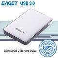 Оригинал EAGET G30 2 ТБ 1 ТБ Внешние Жесткие Диски Жесткие Диски USB 3.0 High-Speed Ударопрочный Шифрования Рабочего Ноутбука мобильный Жесткий Диск