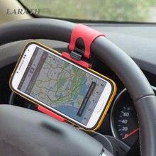 Soporte conector de teléfono Universal para volante de coche, funda de navegación para SEAT leon ibiza Alhambra lada niva kalina priora