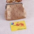 XIYUAN Carpetas de Las Mujeres de Marcas Famosas Mujeres A ESTRENAR brown Carteras Cortos Damas Pequeño Monedero Mujer Monederos Tarjeta de Crédito
