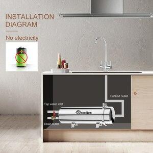 Image 5 - Wheelton PVDF UF Водоочиститель весь дом ультрафильтрация фильтр для воды 0,01 мкм фильтры 3500л/ч SUS304 питьевая вода (база на municip