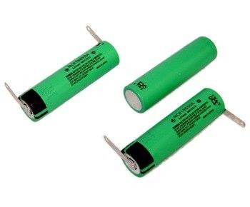 2 piezas Japón batería recargable de Li-Ion NCR 18650 de 3,6 V 3100mAh hecho en Japón