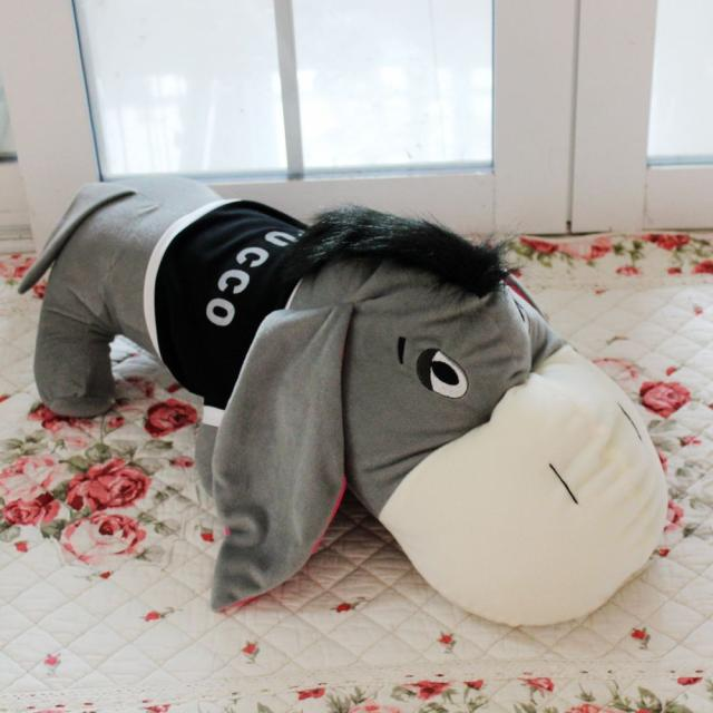 Free shipping 80cm donkey doll donkey plush toy good as a gift soft stuffed toyFree shipping 80cm donkey doll donkey plush toy good as a gift soft stuffed toy