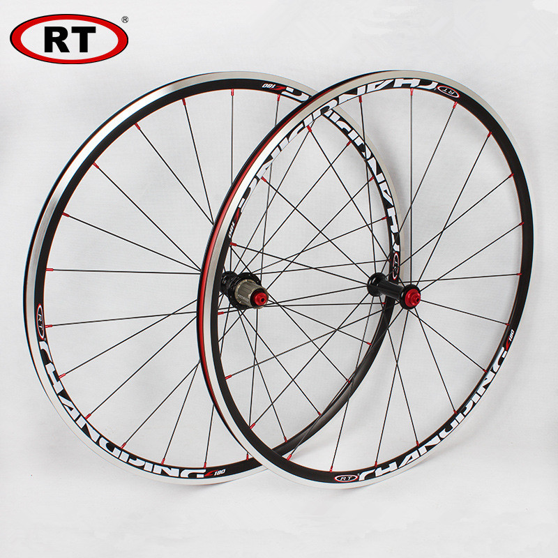 Ultra-light 20/24H Sealed Bearing Road Bike Bicycle <font><b>Wheelsets</b></font> CNC Alloy Hub 700C*25mm Race Bike <font><b>Wheelsets</b></font> Wheels image