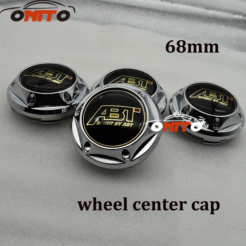 Good qulaity 20pcs 68mm Wheel Center Center Hubs Caps Emblem Wheel Dust-proof emblem covers for ABT