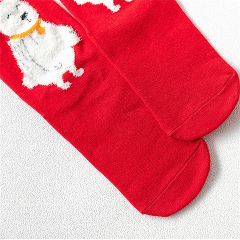 3D Christmas Socks Women Skiing Cycling Cartoon Funny Happy Crazy Cute Amazing Novelty Print Ankle Socks #2s26#F (10)