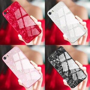 Image 5 - Suntaiho Étuis de Téléphone pour iPhone X 10 Boîtier En Verre Trempé Marbel Couverture Arrière pour iPhone 8 7 6 Plus Étui antidétonantes Étui Ajusté