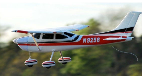 Foam electric <font><b>RC</b></font> <font><b>Plane</b></font> Toy <font><b>Cessna</b></font> <font><b>182</b></font> V1 EPO PNP image