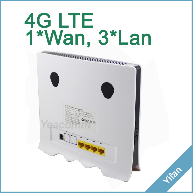 Buy Cheap Discount Support 32 users YF118 LTE CAT4 150M 4G