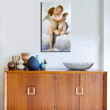 Custom Painting William Adolphe Bouguereau Chastity Silver Wall Art Paintings  Abstract Figurative Jesus wall