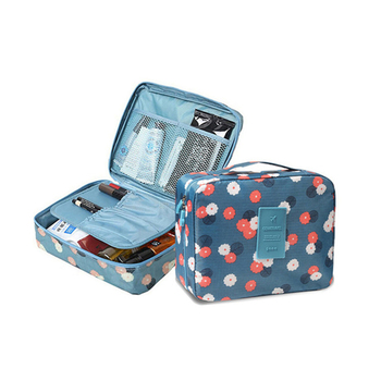 2020 New Cosmetic Multi-function Waterproof Bag Oxford Travel Storage Makeup 5