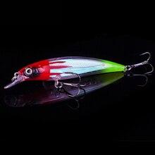 1PCS Minnow Fishing Lure Laser Hard Artificial Bait 3D Eyes 11cm 14g Fishing Wobblers Crankbait Minnows