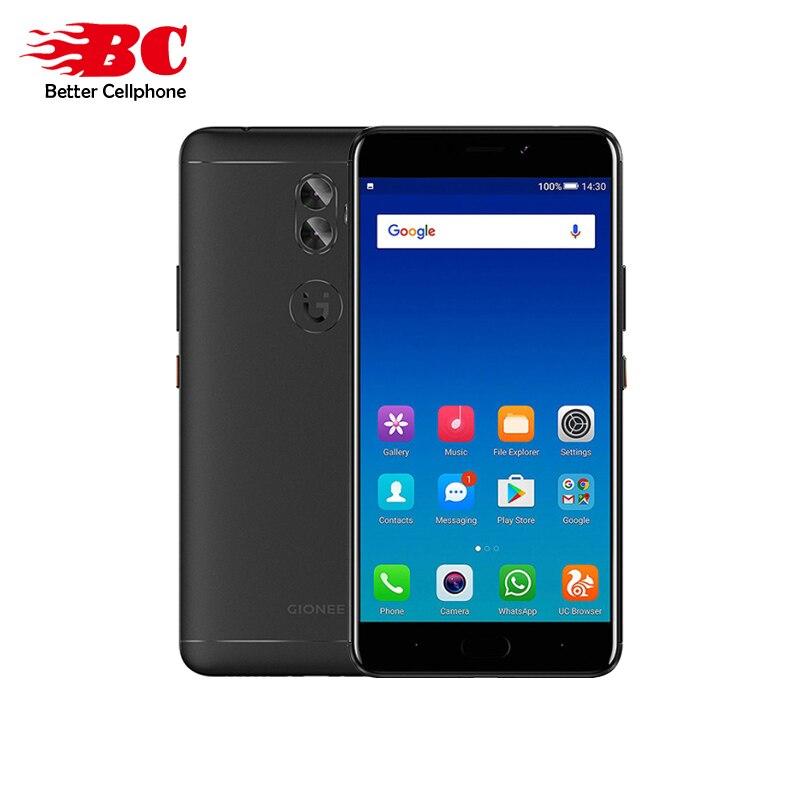 NEW Gionee A1 Plus MT6757CD Octa-core 2.6GHz 6.0inch Android 7.0 Rear13MP 4550mAh Fingerprint 4GB RAM 64GB ROM Smart phone FDD