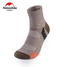Naturehike Spring Summer Merino Woollen Socks Ourdoor Running Socks Quick-dry Ventilate Deodorant Socks NH17A012-M