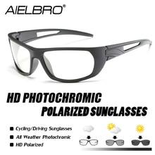 Sports Photochromic Polarized Glasses Cycling Eyewear Bicycle Glass Bike Riding Finshing Sunglasses occhiali ciclismo